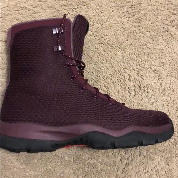 Jordan Future Waterproof Boots Maroon